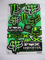 11x Aufkleber Sticker Decal Energy Motorradsport Tuning Motorcross Biker Race GT