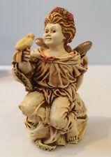 NIB 1998 Angetique La Gardienne Angel Cherub Box Figurine ANSE98 Harmony Kingdom