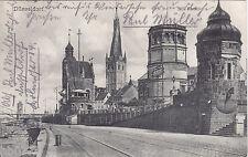 AK Düsseldorf Am Rhein um 1910