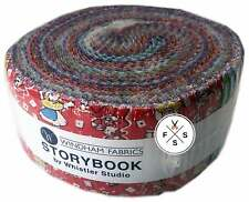 "Windham, Storybook, Strip Roll, 2.5"" Fabric Quilting Strips, STRYJR"