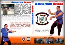 """Kenpo Karate 2 DVD Set Orange Belt Tim Bulot """"FREE SHIPPING"""""""