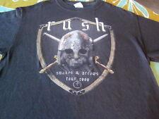 RUSH SNAKES AND ARROWS CONCERT TOUR TEE SHIRT MEDIUM