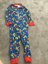 Superman All In One, Pjs No Tags But Never Been Worn 7-8