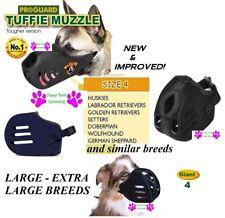 Proguard Tuffie L-XL Bozal de Perro Confort sin Mordisco Resistente Rápido Fit