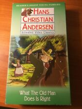What the Old Man Does is Right (VHS) Hans Christian Andersen Classic...119