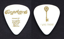 Sugarland White Key Guitar Pick - 2011 Incredible Machine Tour
