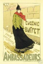 Art Nouveau Print 'Ambassadeurs' by Luc Merivet
