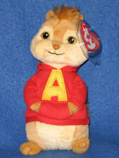 TY ALVIN the CHIPMUNK BEANIE BABY - MINT with MINT TAGS