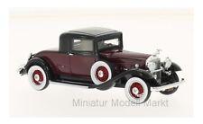 #47105 - Neo Packard 902 Standard Eight Coupe - dunkelrot/schwarz - 1932 - 1:43