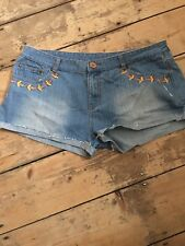 Denim Co Size 18 blue Denim Hotpants shorts (box 5)