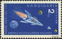 Bulgarien 1233 (kompl.Ausg.) postfrisch 1961 Start der sowjet. Venus-Sonde