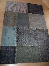 Teppich Rajasthan, Patchwork, Vintage-Look 119 x 180 cm  85% Baumwolle