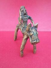 Bronze Tribal  , Cavalier , Rajasthan , Inde
