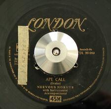 NERVOUS NORVUS Ape Call / Wild Dog VG HEAR Rare German Gold London DL 20089 1956