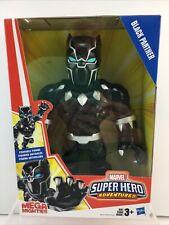 Playskool Black Panther Mega Mighties Poseable Figure Marvel Toy Hasbro