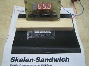 Digital-Freqenzmesser für UKW-Tuner