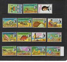 Cayman Islands Scott # 331-345 Complete Set VF OG NH Stamps