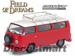 GREENLIGHT 1:64 Hollywood 9 Field of Dreams (1989) 1973 Volkswagen Bus 44690E