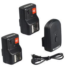 PT-04GY Wireless/Radio Flash Trigger +2 Receiver for Canon Nikon DSLR Camera