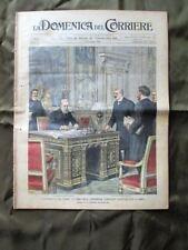 La Domenica del Corriere 10 Gennaio 1904 Arbitrato G. Zanardelli Capodanno Roma