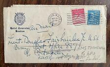 More details for unopened letter sent to douglas fairbanks jr from mother 2nd world war 1942 usa