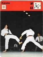 1977 Sportscaster Card Karate A State of Mind # 05-06 NRMINT / Mint
