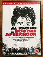 Al Pacino DOG DAY AFTERNOON ~ 1975 Sidney Lumet Crime Drama | 2-Disc UK DVD