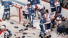 Vintage 1970's & 1980's Bench Clearing Brawls - Hockey Fights DVD