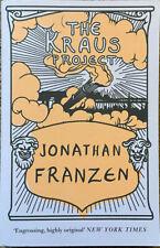 The Kraus Project - Jonathan Franzen - Excellent Condition