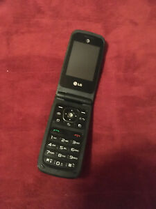 LG A380 Black (AT&T) Cellular Phone Preowned