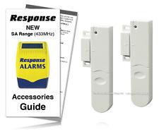 Response Alarms SU4 Door Window Contact 433MHz Response Alarm Accessory Pack