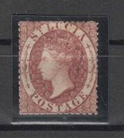 C2891/ BRITISH ST LUCIA – VICTORIA – SG # 1 MINT NO GUM – CV 120 $