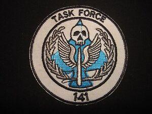TASK FORCE 141 Call Of Duty Modern Warfare Novelty Patch
