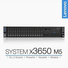 Lenovo X3650 M5 2x Intel Xeon E5-2650v3 2.3GHz 384GB RAM 2U Server 3x I350-t4
