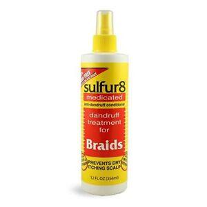 Sulfur 8 Medicated Anti-Dandruff Conditioner for Braids Spray -356ml