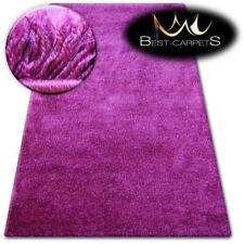 Tapis violets polyester pour la chambre à coucher