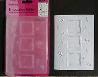 Crafts-Too/CTFD3037/C6/Embossing /Folder/Hearts and frames