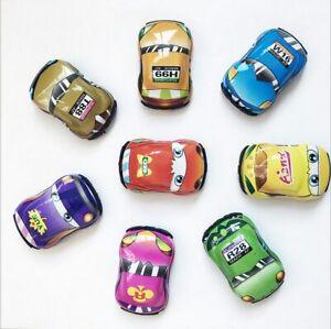 5Pcs Q Version Mini Car Model Pull Back Car Puzzle Car Mobilization Children Toy