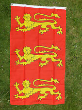 King Richard Banner 3 THREE LIONS Lionheart Crusader-Norman Flag England English