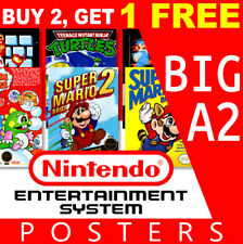 Nintendo NES Game Posters Collection, Big A2 260gsm Posters Prints Art Wall