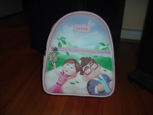 LOUNGEFLY PIXAR UP CARL & ELLIE MINI BACKPACK~ WITH TAGS~BRAND NEW~