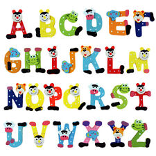 Baby toys 26pcs Letters Kids Wooden Alphabet Fridge Magnet Child EducationalevG