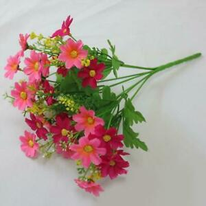 Artificial Flower Flowers  Posy Home Party Decor Plastic Flower Daisy Wedding