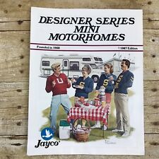 Vintage Jayco Motorhome Dealer Sales Brochure 1987 Camping Camper