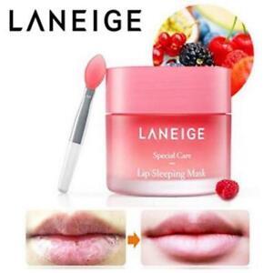 6x 3g Laneige Lip Sleeping Mask Complete Skin Repair Mixed Berry Essence Korea