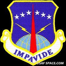 USAF 90TH MISSILE WING - IMPAVIDE -Minuteman III- Warren AFB, WY- ORIGINAL PATCH