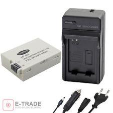 1300mAh Battery + CHARGER  For Canon LP-E8 LPE8 EOS 550D 600D 700D 650D Kiss