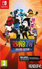 Runbow Deluxe Edition Nintendo Switch Game