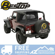 Bestop WrapAround WindJammer - Black Diamond fits 07-18 Jeep Wrangler JK 2 Door