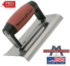 "Marshalltown Cement Concrete Edger 6""x3"" Hand Tools"